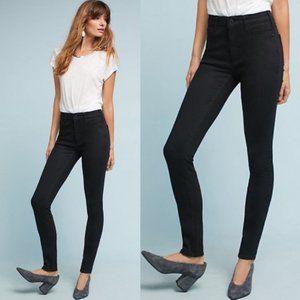 Anthro Pilcro High Rise Skinny Jeans, Black - 27P